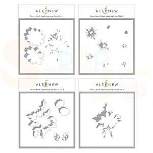 Altenew, Stencil Flower Bunch Layering (4 in 1) ALT4878
