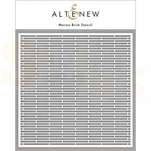 Altenew, Stencil Narrow Brick ALT4880