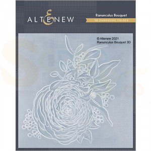 Altenew, embossingfolder Ranunculus Bouquet ALT4951