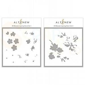 Altenew, Stencil Hill Blossoms (2 in 1) ALT4953