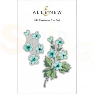 Altenew, die set Hill Blossoms ALT6050
