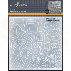 Altenew, embossingfolder Zentangle ALT6055