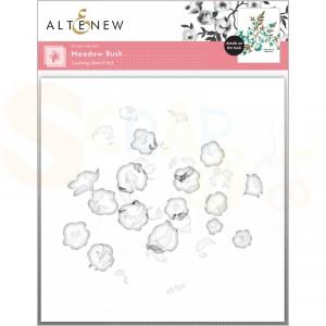Altenew, stencil Meadow Bush Layering (4 in 1) ALT6058STEN