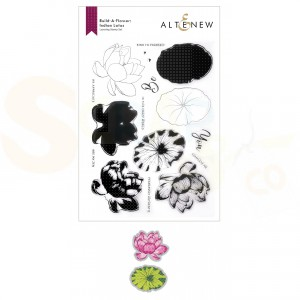 Altenew, build-a-flower Indian Lotus ALT6077