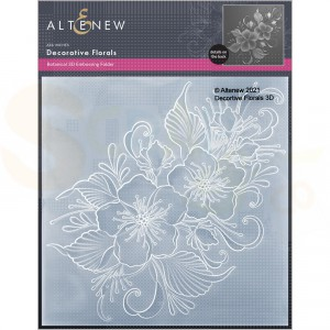 Altenew, embossingfolder Decorative Florals ALT6116