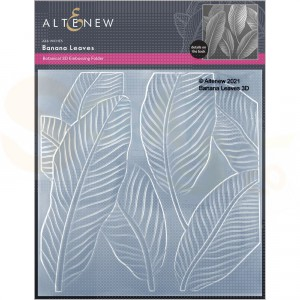 Altenew, embossingfolder Banana Leaves ALT6118