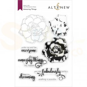 Altenew, clearstamp Amazing Things ALT4194