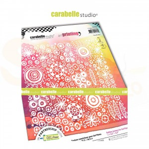 Carabelle Studio, Art printing, carré doodle bug APCA60039