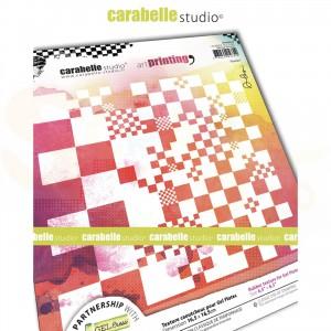 Carabelle Studio, Art printing, carré damier APCA60048