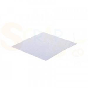 Aurelie, 3D Foam pad white 5x5x1 mm AUFP1001