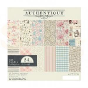 "Paperpad Authentique, 6x6"", Stitches STI011"