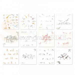 Alexandra Renke, paperpack B-10-0012, Alphabet of Animals