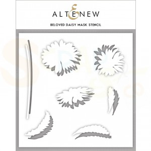 Altenew, Beloved Daisy stencil ALT3204