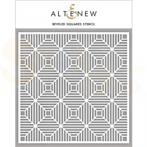 Altenew, Stencil, Beveled Squares ALT2775
