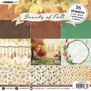 StudioLight, Beauty of Fall Paperpad 15x15 cm, SL-BF-PP13