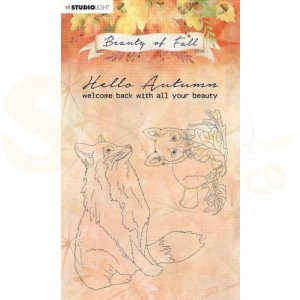 StudioLight, Beauty of Fall clearstamp, SL-BF-STAMP61
