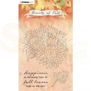 StudioLight, Beauty of Fall clearstamp, SL-BF-STAMP63