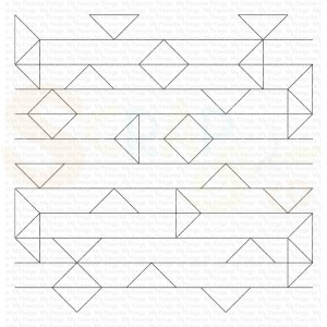 BG-141, My Favorite Things background stamp, Abstract Triangle