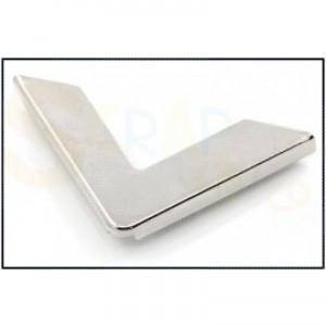 Boekhoek, zilver 6 mm