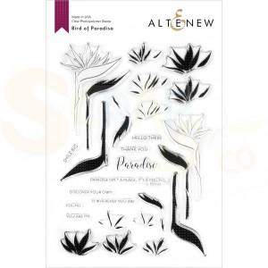 Altenew, clearstamp Birds of Paradise ALT4205