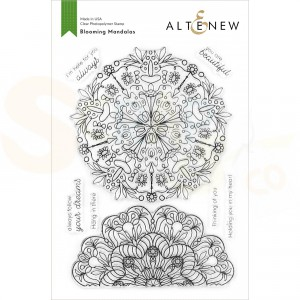 Altenew, clearstamp Blooming Mandalas ALT4207