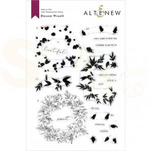 Altenew, clearstamp Blossom Wreath ALT4115