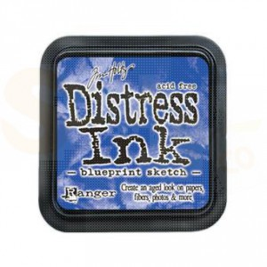 Distress mini ink pad Blueprint Sketch