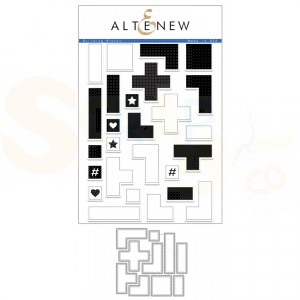 Altenew, stamp & die Building Blocks ALT1850BN