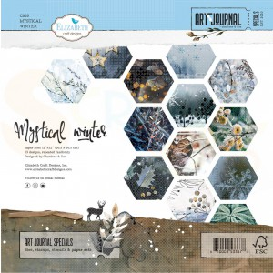 Elizabeth Craft Designs, paperpack C005, Mystical Winter