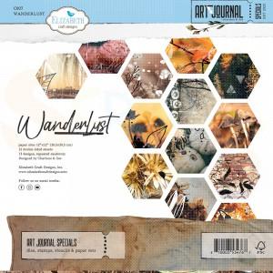 Elizabeth Craft Designs, Into the woods Paper pack C007, Wanderlust