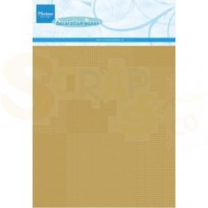 CA3126, Marianne Design, Gold 5 vel A5
