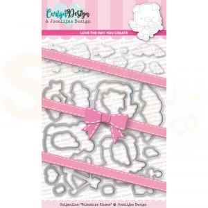 Carlijn Design, snijmal CDJD-002, Valentine Kisses by Jocelijne