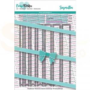 Carlijn Design, snijmal CDSN-0090, Verticale banners Stitching
