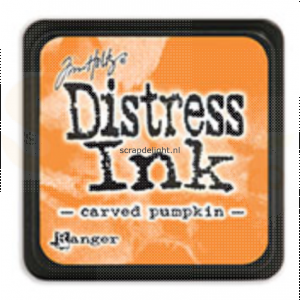 Distress mini ink pad Carved Pumpkin