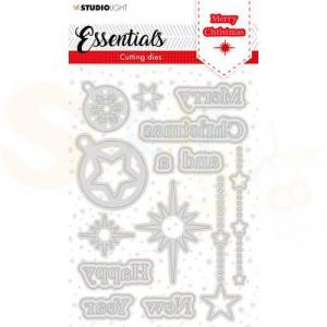StudioLight, cutting die Christmas Essentials nr. 119 SL-ES-CD119