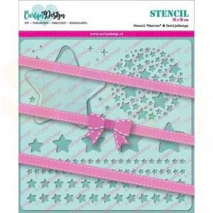 Carlijn Design, stencil CDSC-0005, Sterren