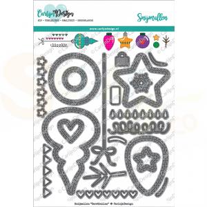 Carlijn Design, snijmal CDSN-0028, Kerstballen