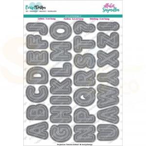 Carlijn Design, snijmal CDSN-0055,Outline Alfabet