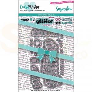 Carlijn Design, snijmal CDSN-0066, Glitter
