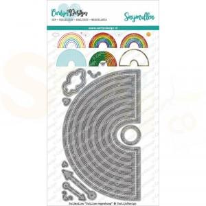 Carlijn Design, snijmal CDSN-0102 Outline Regenboog