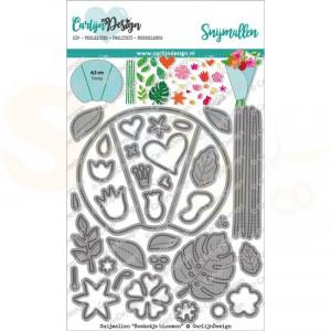 Carlijn Design, snijmal CDSN-0105 Boeketje bloemen