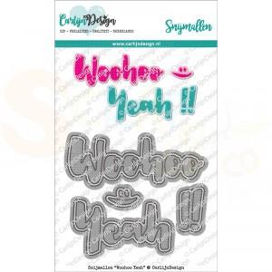 Carlijn Design, snijmal CDSN-0118, Woohoo Yeah