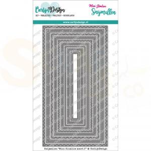 Carlijn Design, snijmal CDSN-0120 Mini Slimline kaart 2