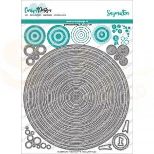 Carlijn Design, snijmal CDSN-0122 Cirkels