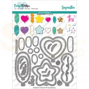 Carlijn Design, snijmal CDSN-0125 Ballonnen 2