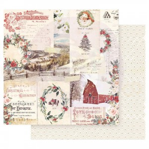 Prima Marketing, Christmas in the Country CITC12 95218, Christmas Joy