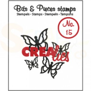 CLBP15 clearstamp bits&pieces no.15 butterfly 3