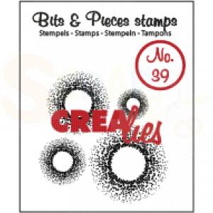 CLBP39 clearstamp bits&pieces no.39 cirkel stippen
