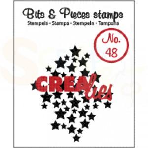 CLBP48 clearstamp bits&pieces no.48 sterren