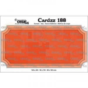 CreaLies, CLCZ188 Cardzz Slimline H ticket